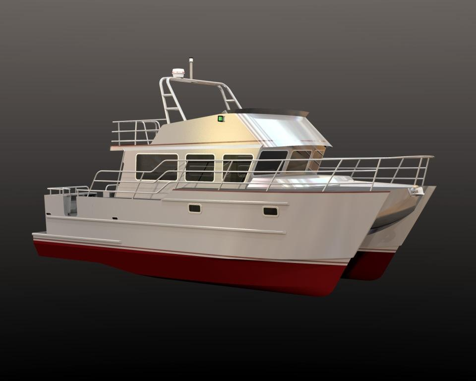 Aluminum Cat Boat Plans : Jutson