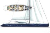 110 foot High Performance Luxury Sailing Yacht