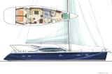 80 foot High Performance Luxury Sailing Yacht